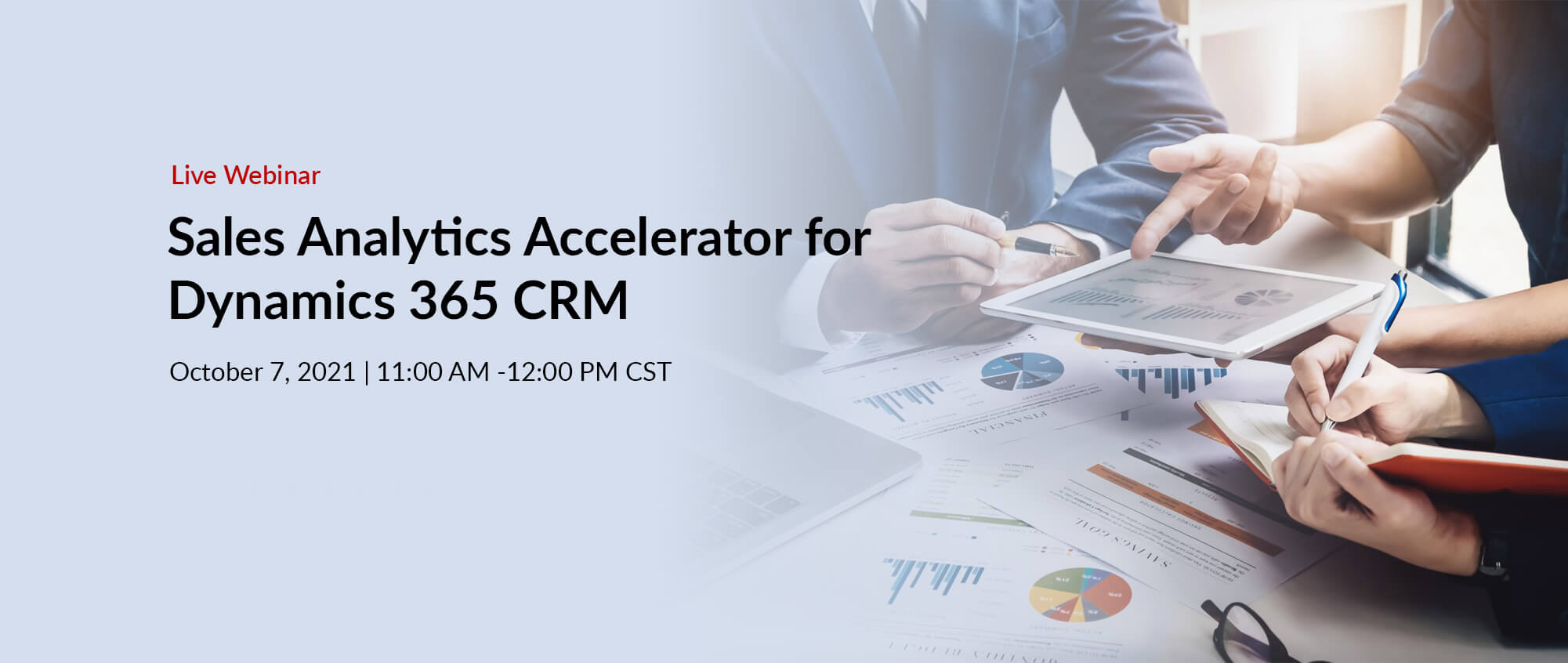 Sales Analytics Accelerator for Dynamics 365 CRM