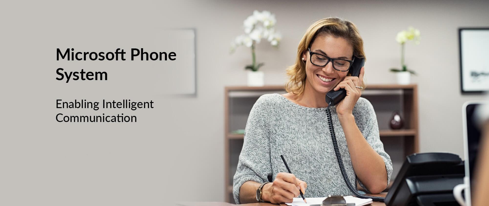 Microsoft Phone System